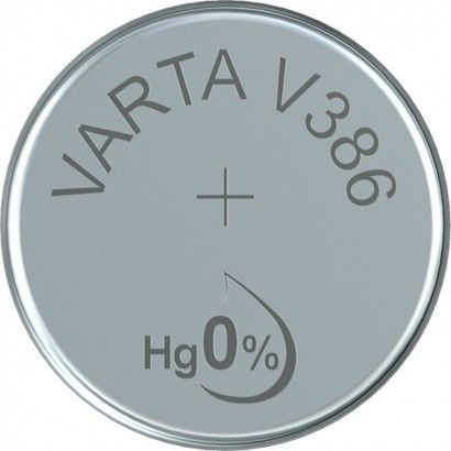 Silberoxid-Knopfzelle Typ SR43 / V386 von Varta